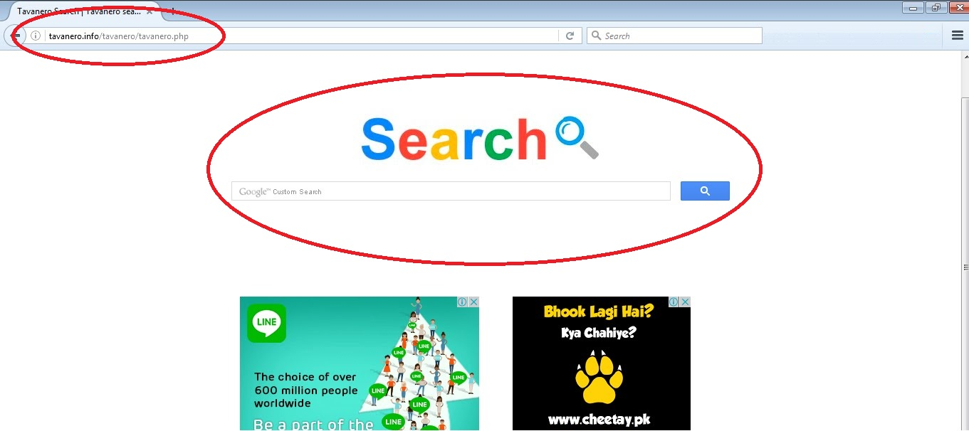 Tavanero Browser Redirect